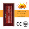 New Design Flush Single Steel Door Prices (SC-S059)