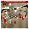 Glass Water Drop Christmas Tree Ornaments Wedding Holiday Decor (CH8080)