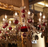Fixtured Crystal Chandelier with High Quality for Indoor Use