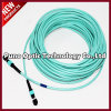 12 Cores MTP - MTP Multimode OM3 Aqua Trunk Cable