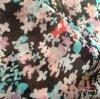 75D Water Roller Print Polyester Chiffon Fabric for Women Dress