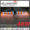 48W LED Dash Visor Warning Light with Split Mount