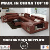 Modern Hotel Lobby Sofa Sectional U Shaped Leather Sofa