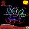 LED 90cm Silhouette Dancing Santa Rope Motif Light Christmas Lights for Xmas Decoration