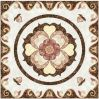 Flower Pattern Carpet Tile Polished Crystal Ceramic Floor Tile 1200X1200mm (BMP27)