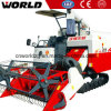 4lz-4.0e Rice Wheat Harvester Price with 1.4m3 Grain Tank