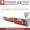 PE PP Single Wall Corrugated Drainage Pipe Making Machine