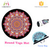 Sweat Absorb Organic New Round Yoga Mat with Carrying Bag