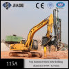Excavator Mounted Hydraulic Rock Drilling Attachment