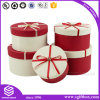 Rigid Paper Box Packaging Round Gift Box