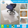 Office Products PVC Plastic Chair Mat for Hard Floors, 45 X 53 Inches, Rectangular with Lip for Under-Desk