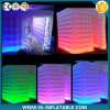 Party Wedding Event Decoration Inflatable Photo Booth with LED Light Changing Colors