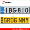 Aluminum European Car License Plate (UK, Finland)