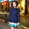 Classical Girls School Uniform Dresses Toddler Kids Long Sleeve Dress