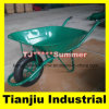 65L France Model Wheelbarrow Wheel Barrow Wb6400 for Angola Market