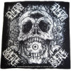 Customized Logo Printed Skull Printing Hip Hop Cotton Head Bandana
