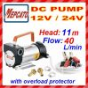 DC Fuel Transfer Pump for Heavy Equipment