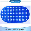 Eco-Friendly Blue Bath Mat/PVC Mat with Suction Cup (D125)