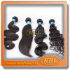 Black Color Brazilian Hair Weft From Kabeilu