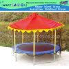 Outdoor Trampoline Playground with Roof for Kids Play (HD-15002)