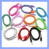 Strong Nylon Braided USB Charger Cable for iPhone 6/5/5s/5c 1m/2m/3m Long