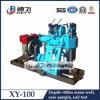 Portable Hydraulic Trailer Mounted Drilling Rig Xy-100