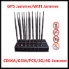 14bands High Power Lojack/GPS/WiFi/Lte/2g/3G/VHF/UHF Signal Jammer Signal Blocker