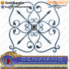 Decoraitve Iron Rosette Fencing Panel