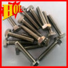 M6 Hexagon Head Gr 2 Pure Titanium Bolts