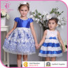 Embroider Party Dress, Special Design Evening Girl Dress