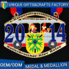 Newest Metals Medal with Customized Ribbon