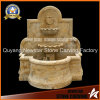 Natural Marble Stone Carving Garden Decoration Wall Fountain