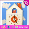 New Design Early Teaching Toddlers Wooden Toy Clock W14k010