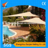 3X3X3m 100% New HDPE Fabric Sun Shade Sail for Sandbeach Leisure (Manufacturer/Factory)