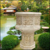 Stone Carved Planter, Marble Flower Pot (GS-FL-010)
