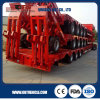China Factory Low Flatbed Semi Trailer