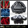 9PCS *10W RGBW LED Spider Moving Head Light