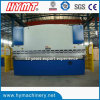 WC67Y-200X6000 Hydraulic steel plate bending machine/metal folding machine
