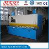 QC11Y-10X2500 NC control hydraulic guillotine steel plate shearing cutting machine