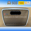 Black Logo Silver Car Front Grill Grille for Audi RS6 2005-2012""