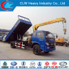 Foton 5 Ton Tipper Truck Crane for Sale