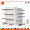 Customized Steel Supermarket Plain Back Panel Wall Shelves (Zhs579)