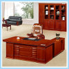 Office Furniture Executive Boss Luxury Wooden Office Desk with Side Table