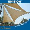 Waterproof, Anti-UV PVC Coated Tarpaulin for Sunshade