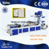 Full Automatic Side Sealing DHL TNT Poly Courier Bag Machine with Pocket Film