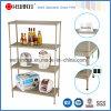 4 Tiers Adjustable Powder Coating Perforated Metal Storage Rack (CJ-B1218)