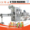Capping Labeling Packaging Line, Automatic Liquid Filling Machine