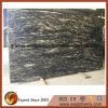 Imported Black Granite Stone Slab for Countertop and Worktops