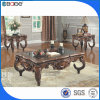 Manhattan Wooden Carved Square Coffee Table