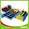 Cheap Children Indoor Rectangular Trampoline Bed Park Design